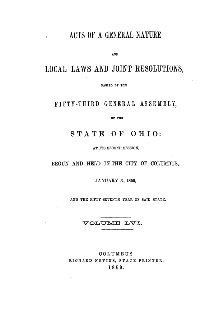 handle is hein.ssl/ssoh0201 and id is 1 raw text is: ACTS OF A GENERAL NATURE
