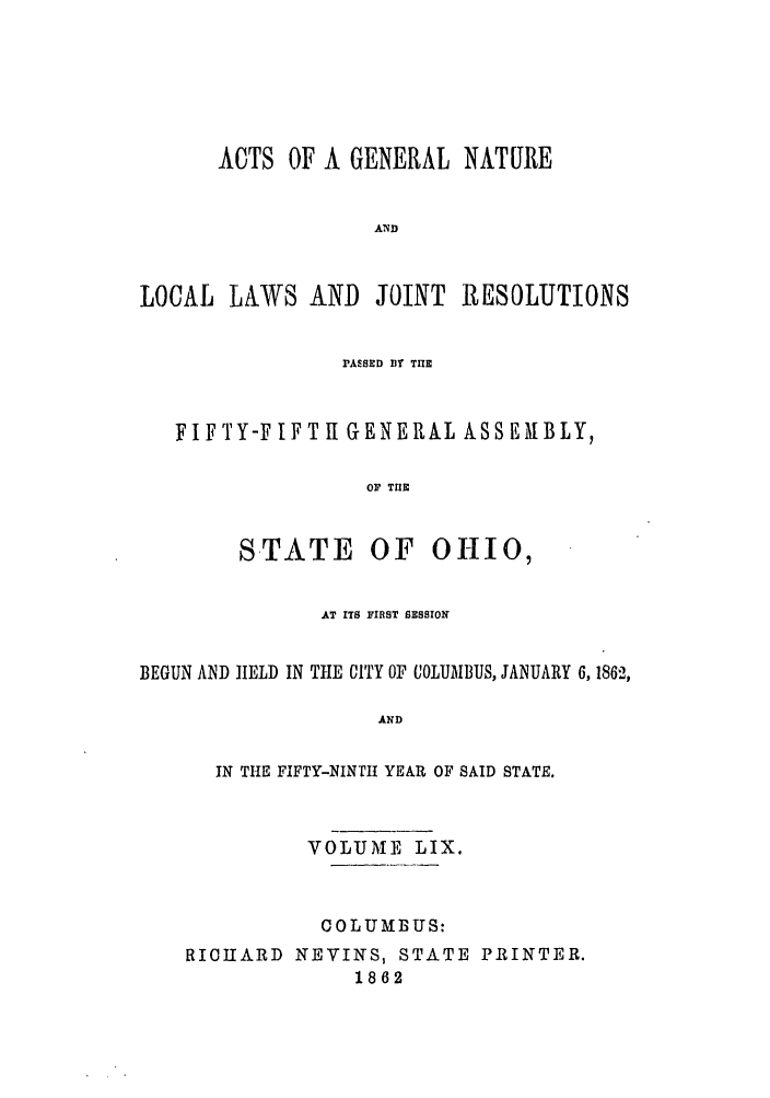 handle is hein.ssl/ssoh0204 and id is 1 raw text is: ACTS OF A GENERAL NATURE