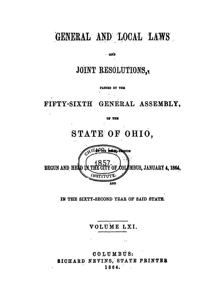 handle is hein.ssl/ssoh0206 and id is 1 raw text is: GENERAL AND, -LOCAL LAWS,