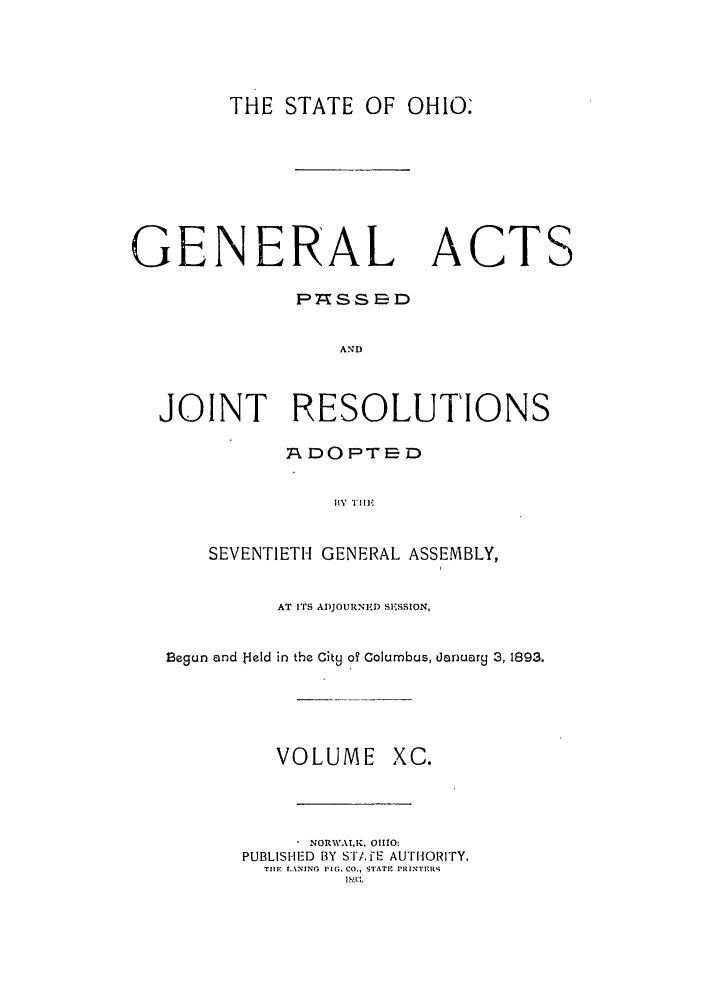 handle is hein.ssl/ssoh0235 and id is 1 raw text is: THE STATE OF OHIO.