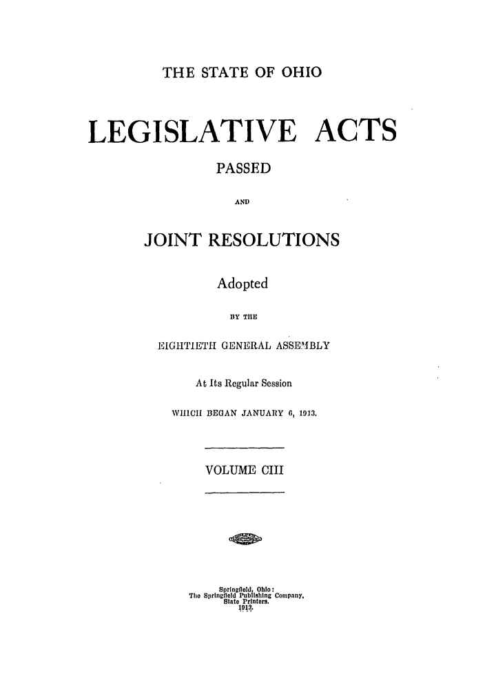 handle is hein.ssl/ssoh0249 and id is 1 raw text is: THE STATE OF OHIO