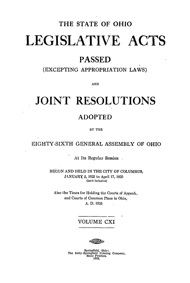 handle is hein.ssl/ssoh0259 and id is 1 raw text is: THE STATE OF OHIO