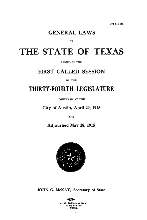 handle is hein.ssl/sstx0092 and id is 1 raw text is: B94-616-Sm