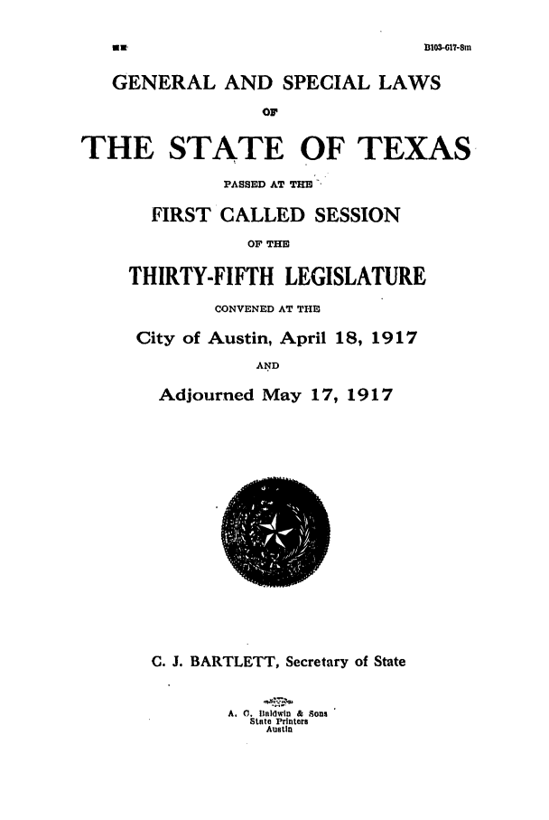 handle is hein.ssl/sstx0095 and id is 1 raw text is: 1103-07-8in