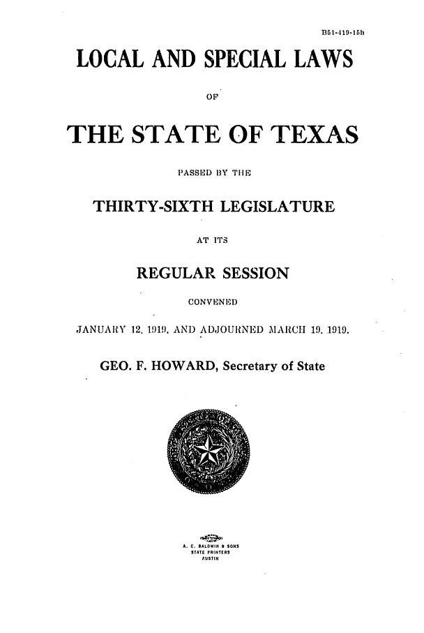 handle is hein.ssl/sstx0099 and id is 1 raw text is: 1351-4 19-15 h