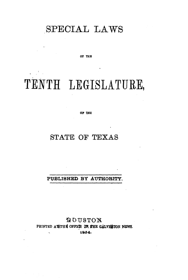 handle is hein.ssl/sstx0206 and id is 1 raw text is: SPECIAL