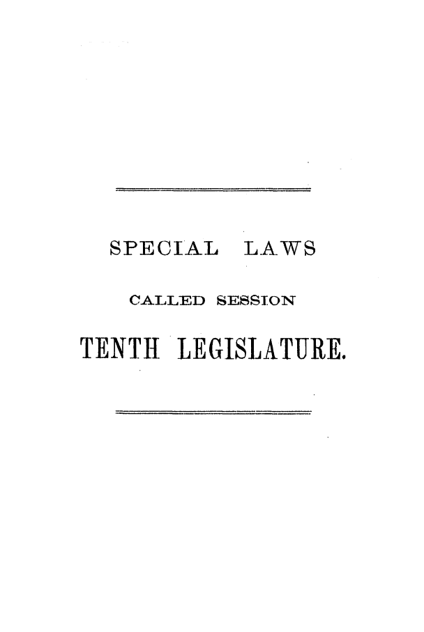 handle is hein.ssl/sstx0208 and id is 1 raw text is: SPECIAL