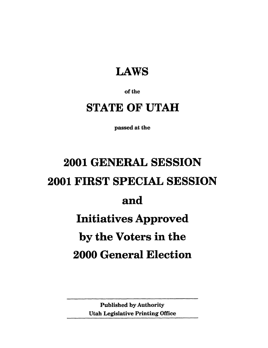 handle is hein.ssl/ssut0002 and id is 1 raw text is: LAWS