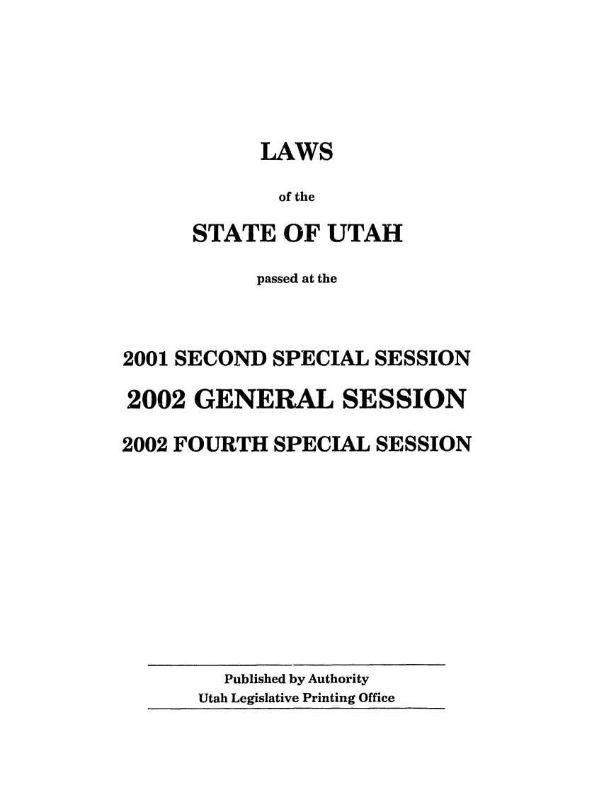 handle is hein.ssl/ssut0003 and id is 1 raw text is: LAWS