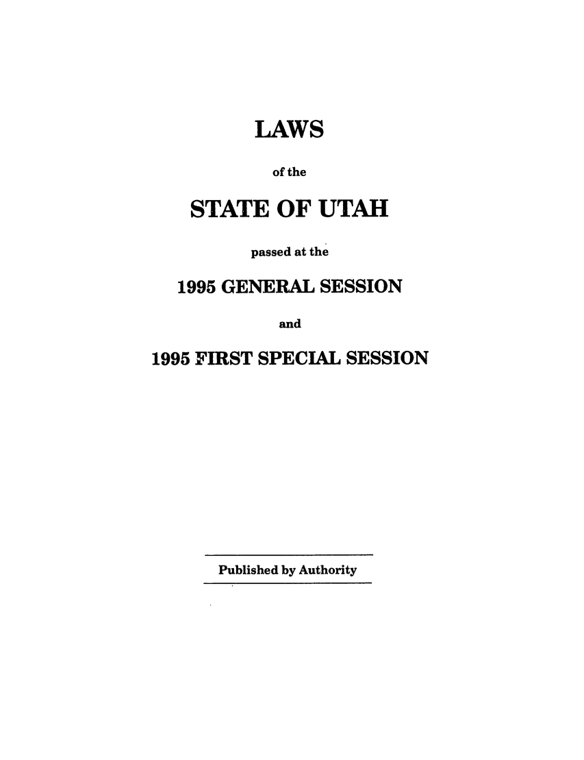 handle is hein.ssl/ssut0010 and id is 1 raw text is: LAWS
