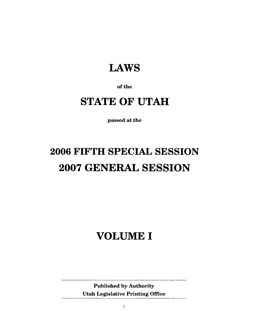 handle is hein.ssl/ssut0015 and id is 1 raw text is: LAWS