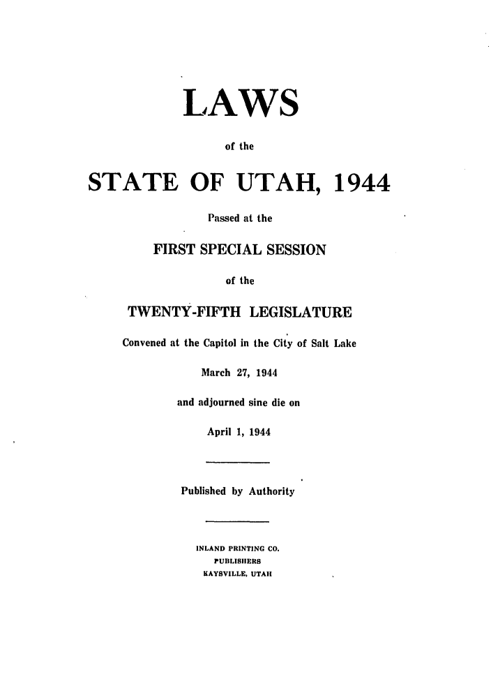 handle is hein.ssl/ssut0042 and id is 1 raw text is: LAWS