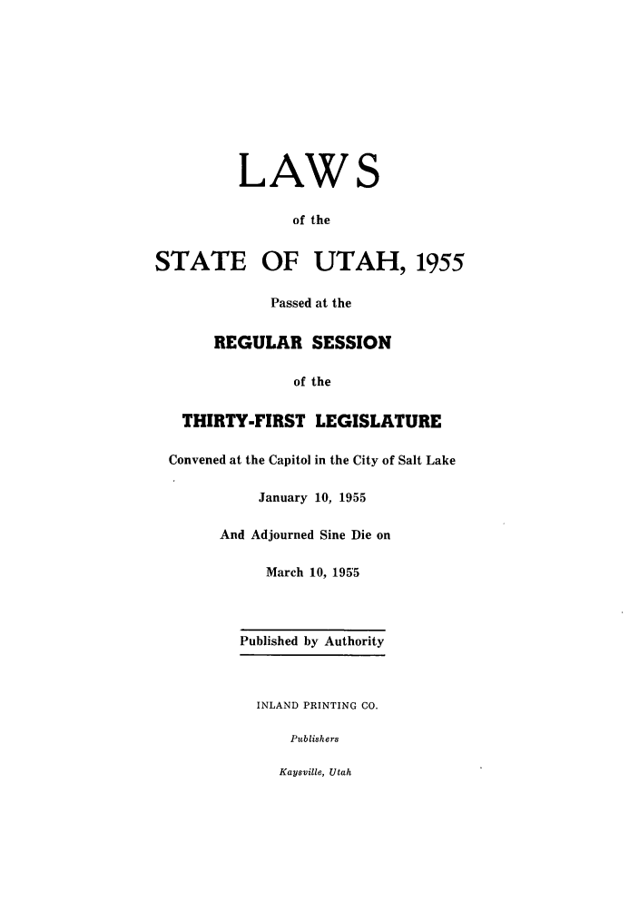 handle is hein.ssl/ssut0053 and id is 1 raw text is: LAWS