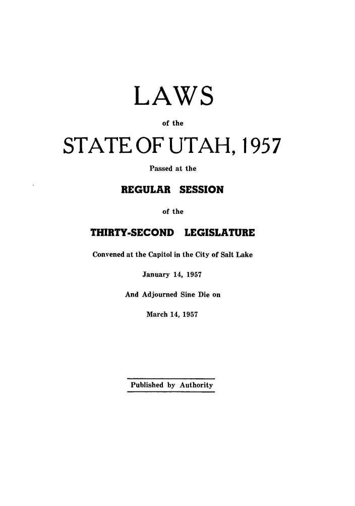 handle is hein.ssl/ssut0054 and id is 1 raw text is: LAWS