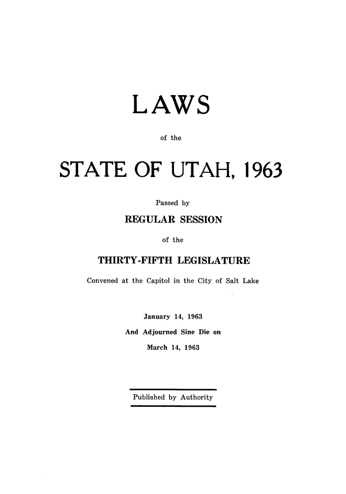 handle is hein.ssl/ssut0057 and id is 1 raw text is: LAWS
