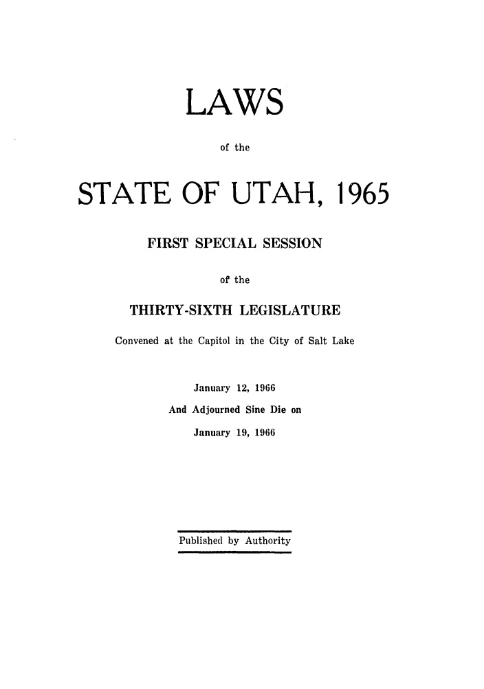 handle is hein.ssl/ssut0059 and id is 1 raw text is: LAWS