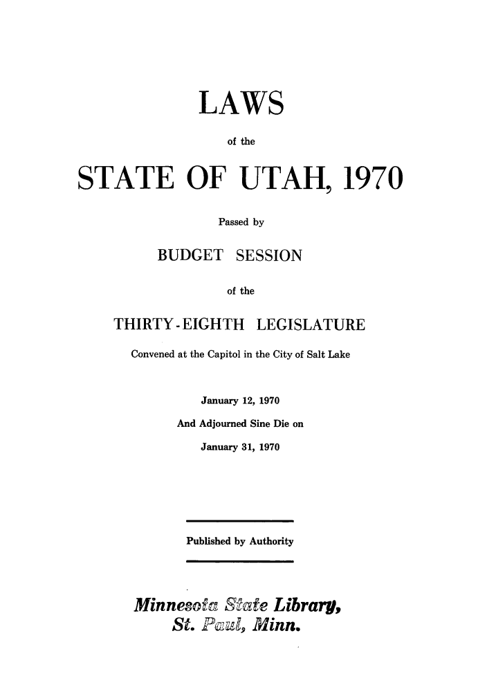 handle is hein.ssl/ssut0063 and id is 1 raw text is: LAWS