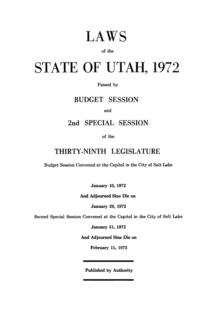 handle is hein.ssl/ssut0066 and id is 1 raw text is: LAWS