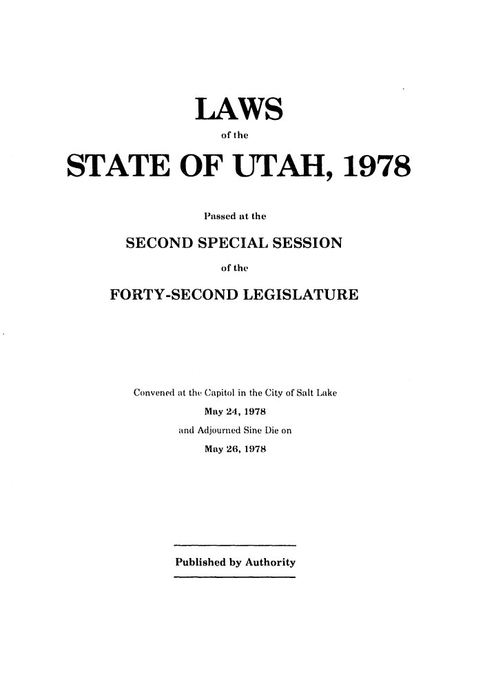 handle is hein.ssl/ssut0077 and id is 1 raw text is: LAWS