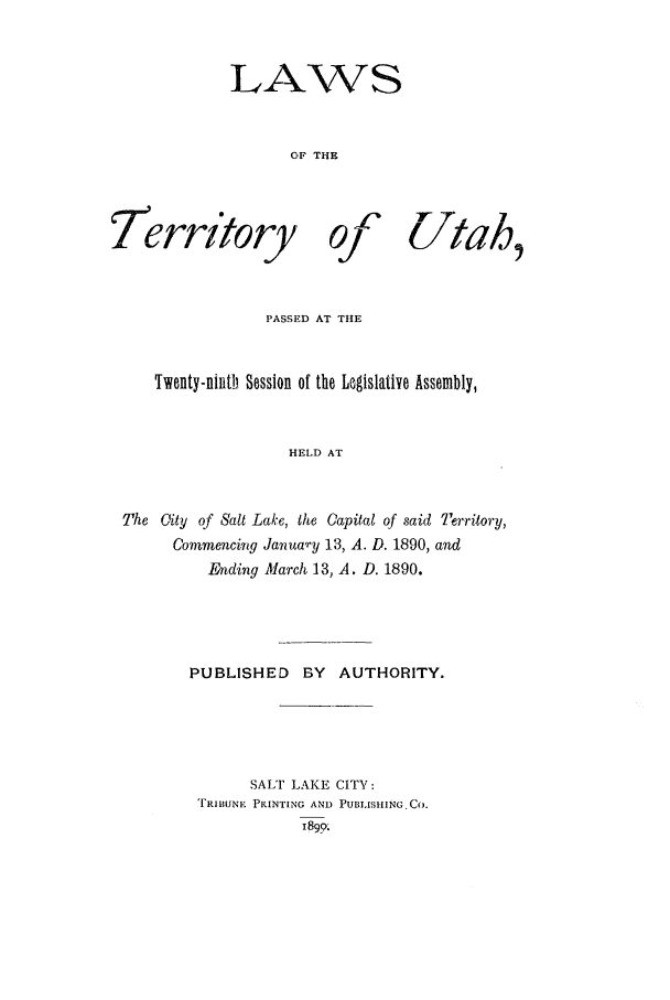 handle is hein.ssl/ssut0108 and id is 1 raw text is: LAWS