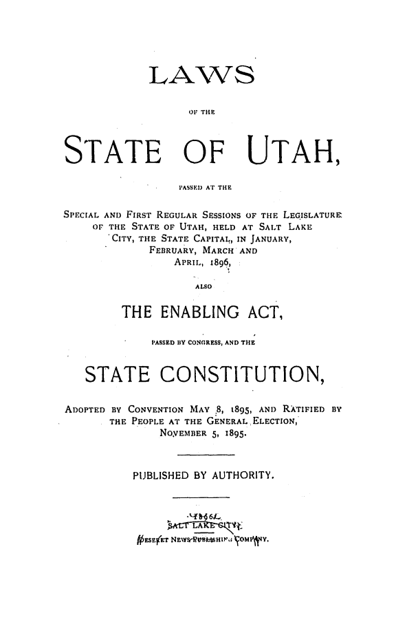 handle is hein.ssl/ssut0111 and id is 1 raw text is: LAWS
