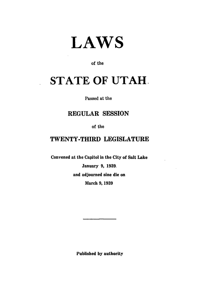 handle is hein.ssl/ssut0137 and id is 1 raw text is: LAWS