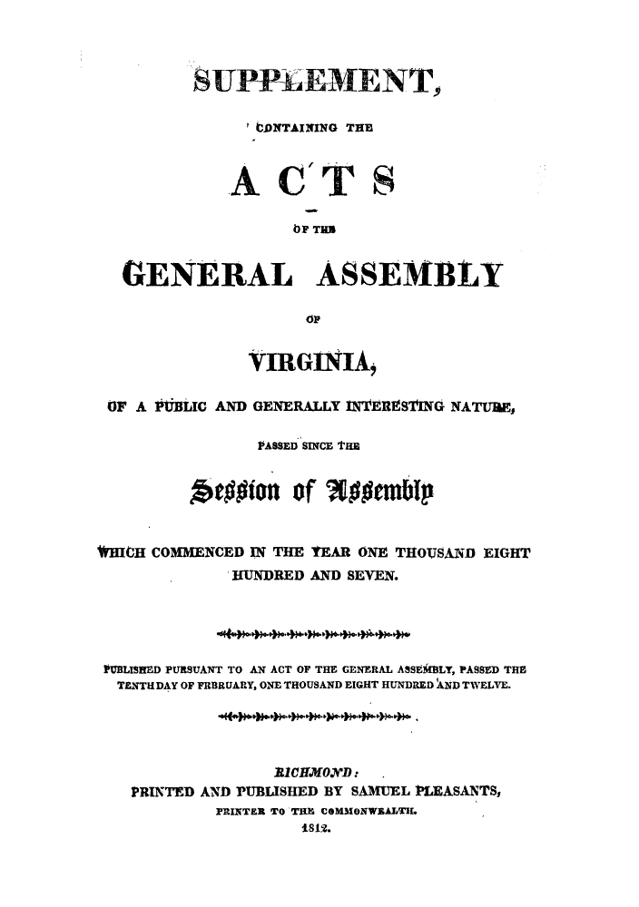 handle is hein.sstatutes/scactg0001 and id is 1 raw text is: SUPPLEMENT,