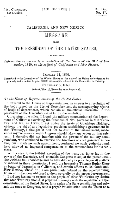 handle is hein.statecon/canmpotus0001 and id is 1 raw text is: 31st CoNGREss,           [O. OF REPS.]                   Ex. Doc.