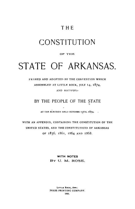 handle is hein.statecon/costark0001 and id is 1 raw text is: 