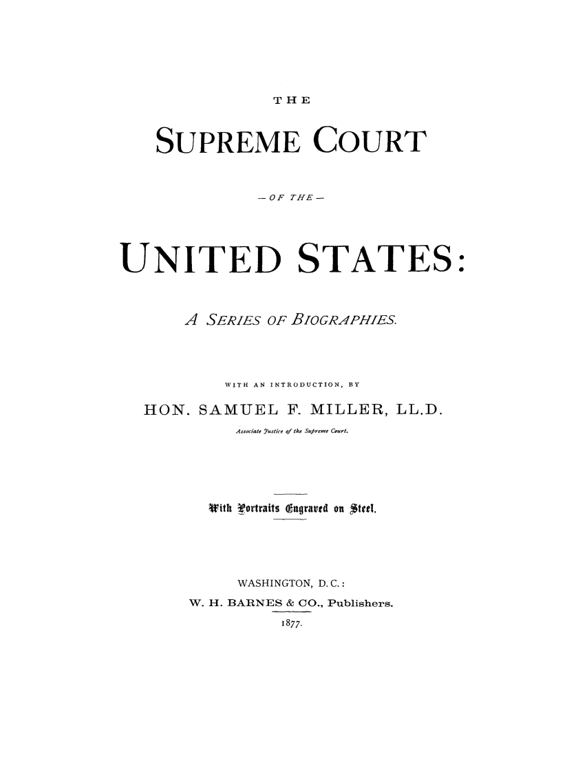 handle is hein.supcourt/scusser0001 and id is 1 raw text is: THE