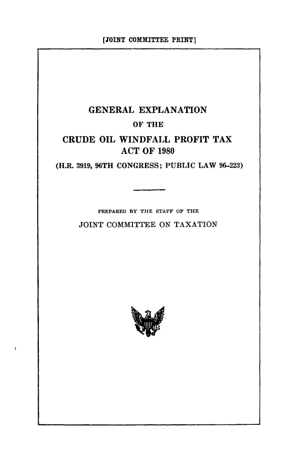 handle is hein.tera/geexcru0001 and id is 1 raw text is: [JOINT COMMITTEE PRINT]
