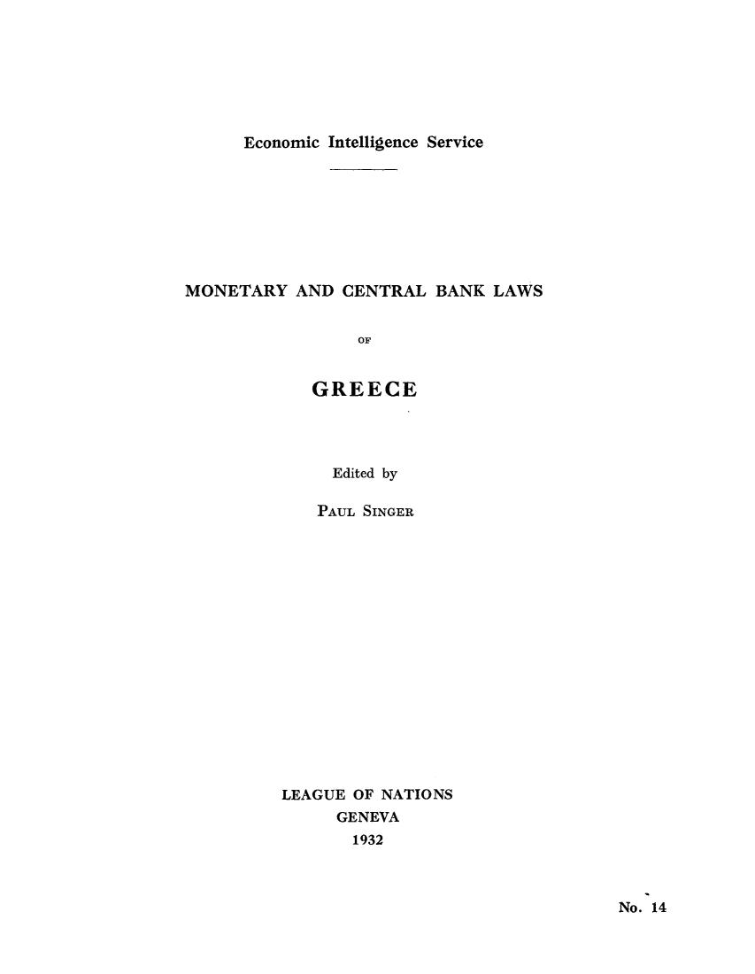 handle is hein.tera/moncenb0014 and id is 1 raw text is: Economic Intelligence Service
