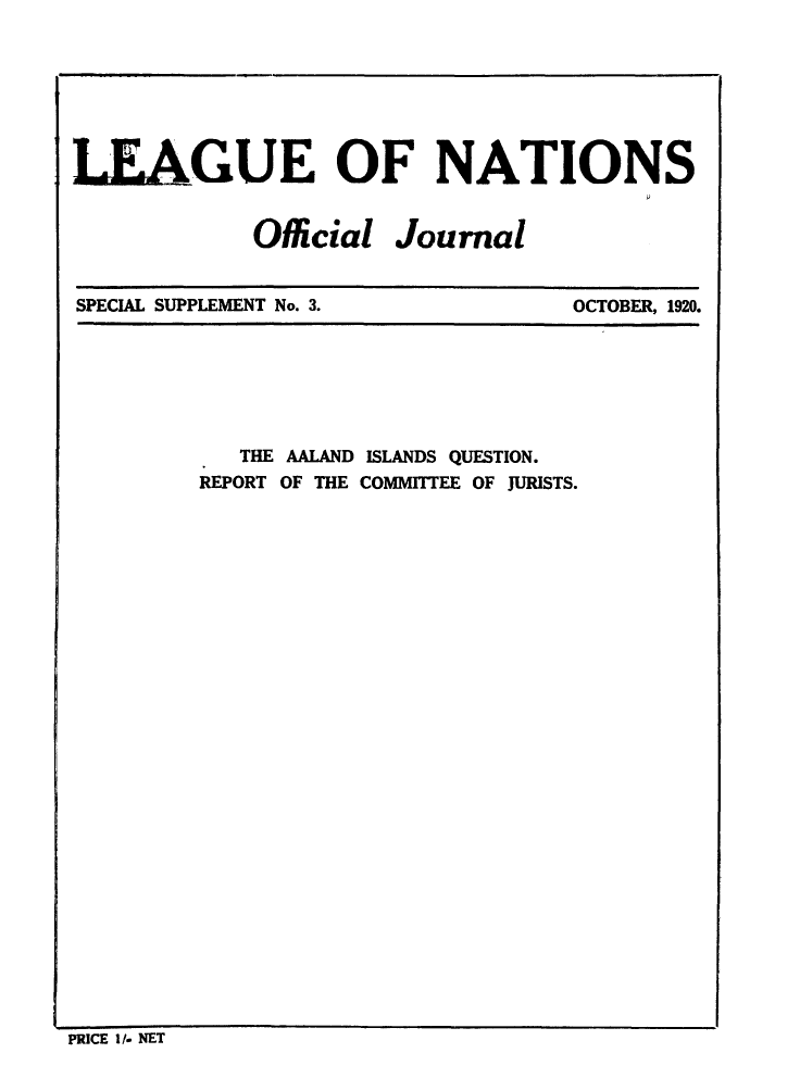 handle is hein.unl/offjrnsup0003 and id is 1 raw text is: LEAGUE OF NATIONS