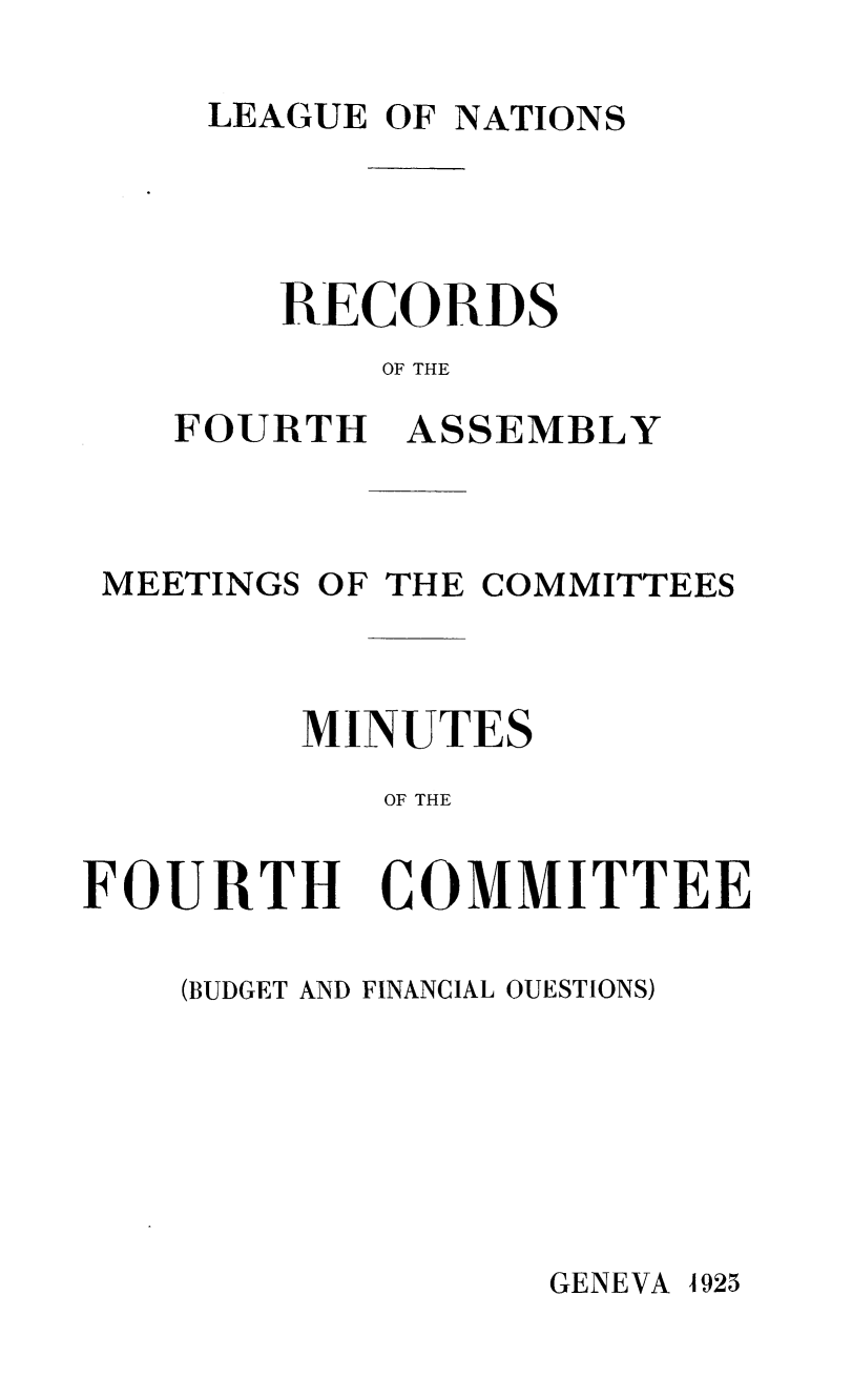 handle is hein.unl/offjrnsup0017 and id is 1 raw text is: LEAGUE OF NATIONS