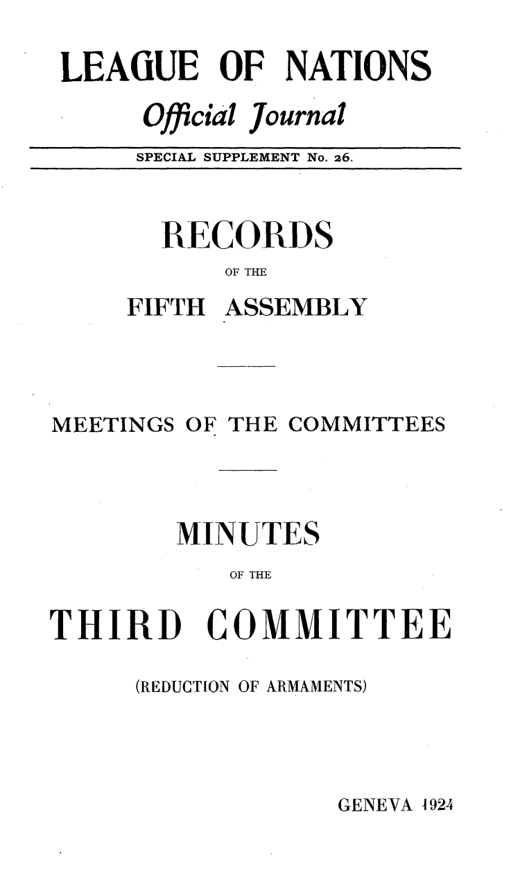 handle is hein.unl/offjrnsup0026 and id is 1 raw text is: LEAiUE OF NATIONS