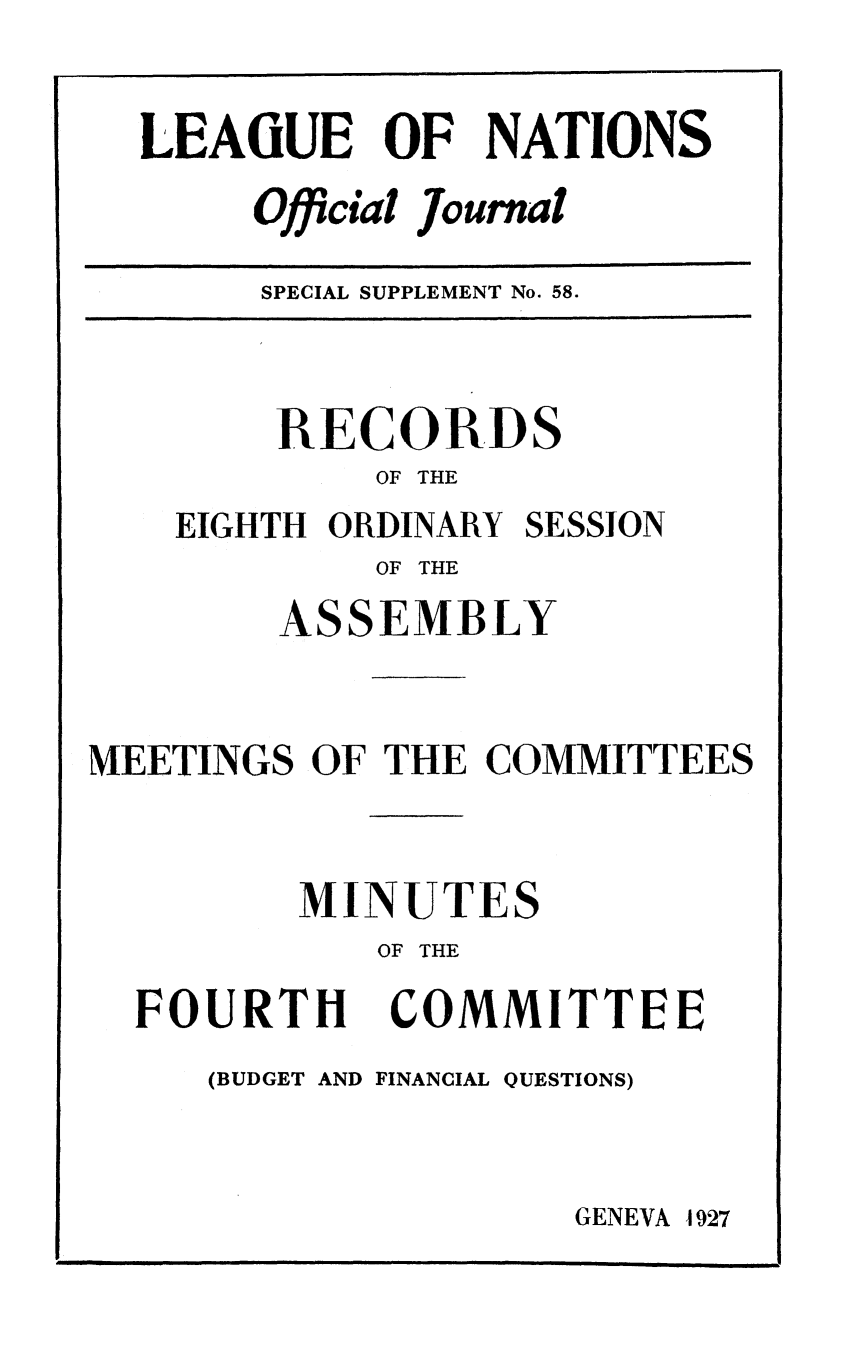 handle is hein.unl/offjrnsup0058 and id is 1 raw text is: LEA(UE OF NATIONS