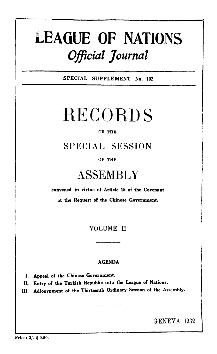 handle is hein.unl/offjrnsup0102 and id is 1 raw text is: LEAIUE OF NATIONS