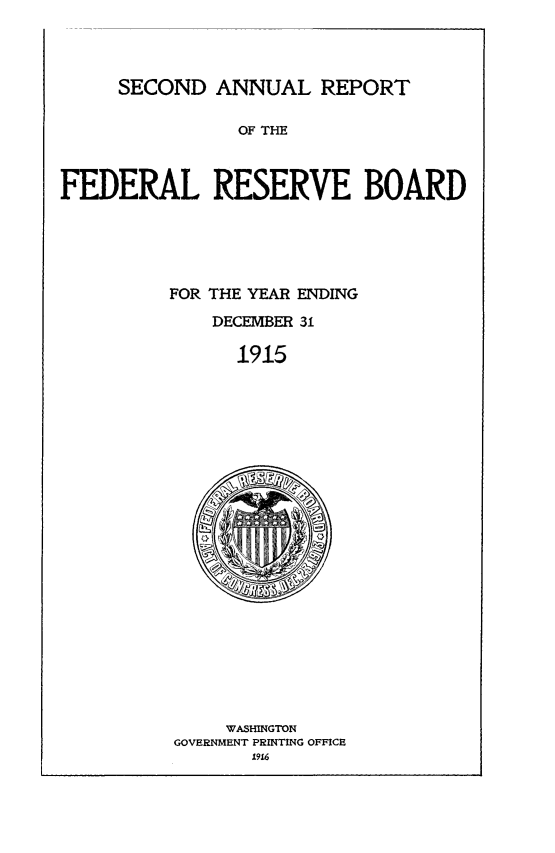 handle is hein.usfed/anlbgovfed0002 and id is 1 raw text is: SECOND ANNUAL REPORT