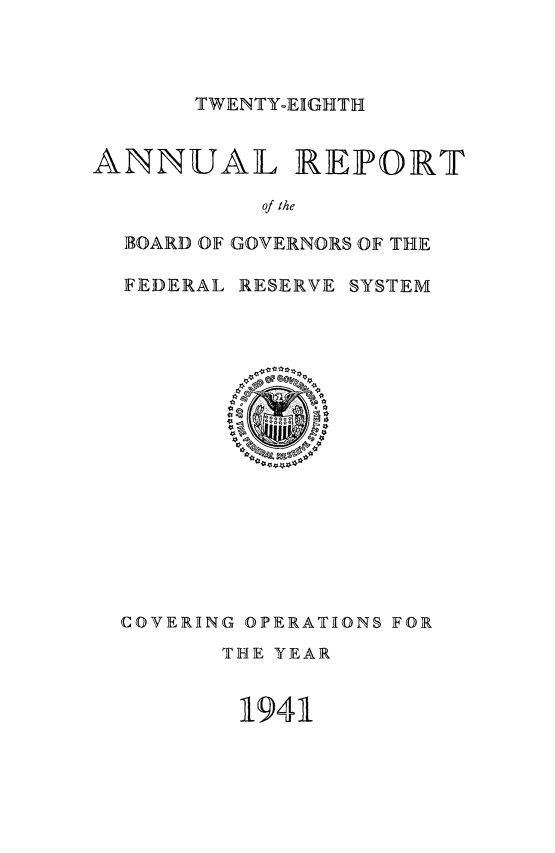 handle is hein.usfed/anlbgovfed0028 and id is 1 raw text is: TWENTY-EIGHTH