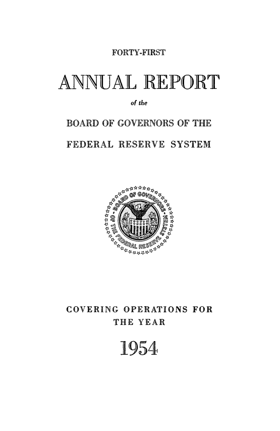 handle is hein.usfed/anlbgovfed0041 and id is 1 raw text is: FORTY-FIRST