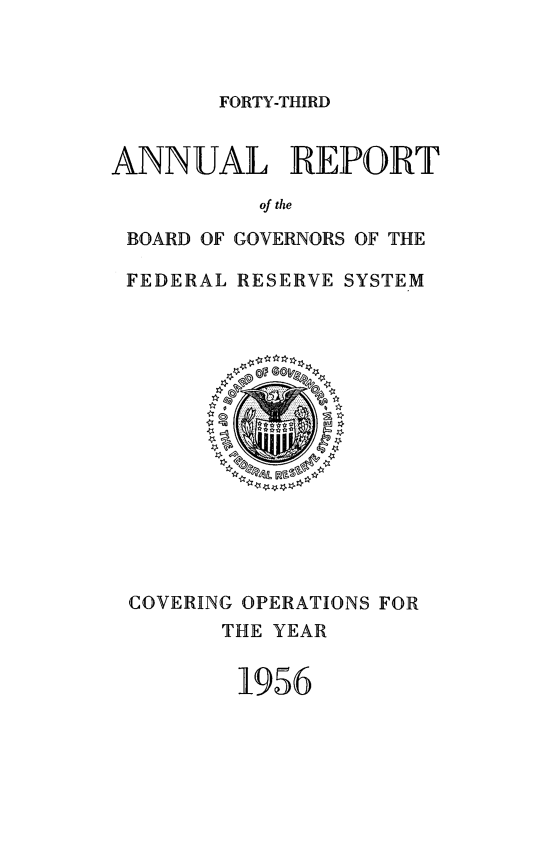handle is hein.usfed/anlbgovfed0043 and id is 1 raw text is: FORTY-THIRD