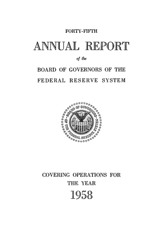 handle is hein.usfed/anlbgovfed0045 and id is 1 raw text is: FORTY-FIFTH