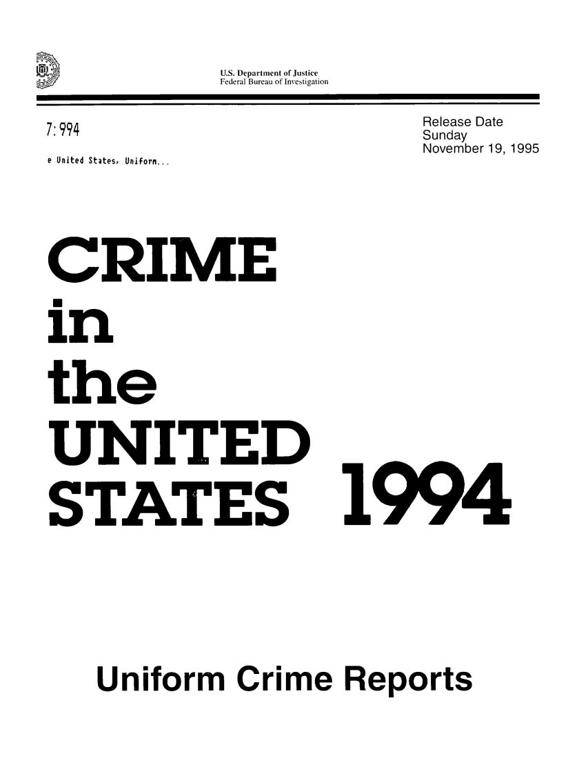 handle is hein.usfed/unifor0065 and id is 1 raw text is: U.S. Department of Justice