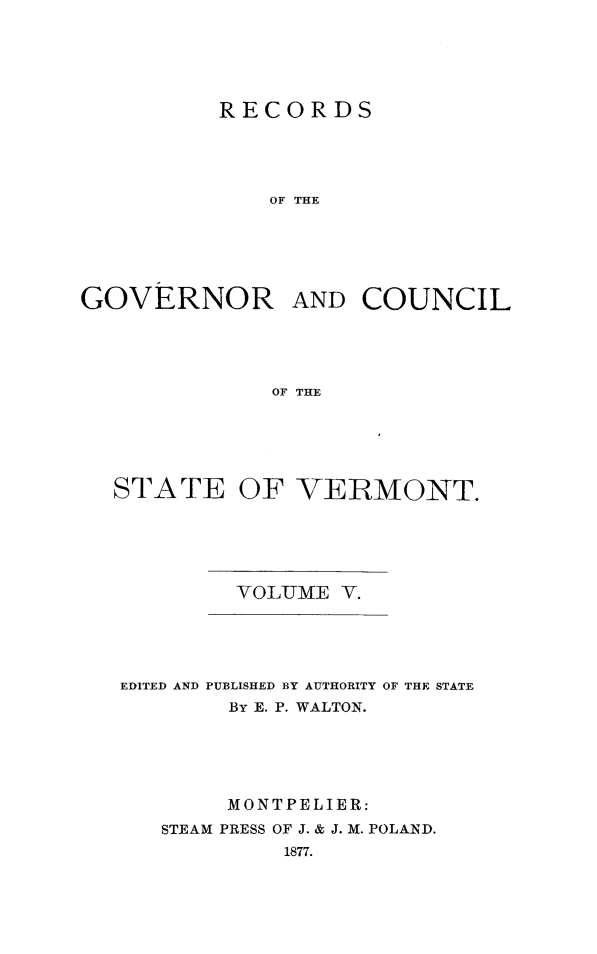 handle is hein.usvermontoth/rcgvcsvt0005 and id is 1 raw text is: 